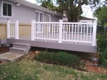 PVC deck and handrail